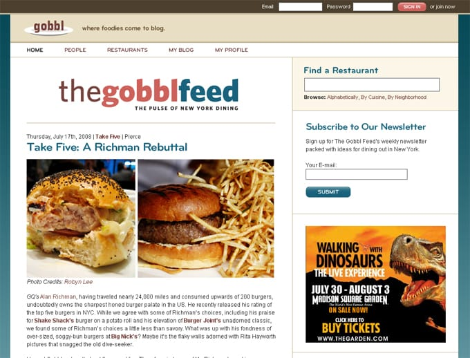 The Gobbl Feed
