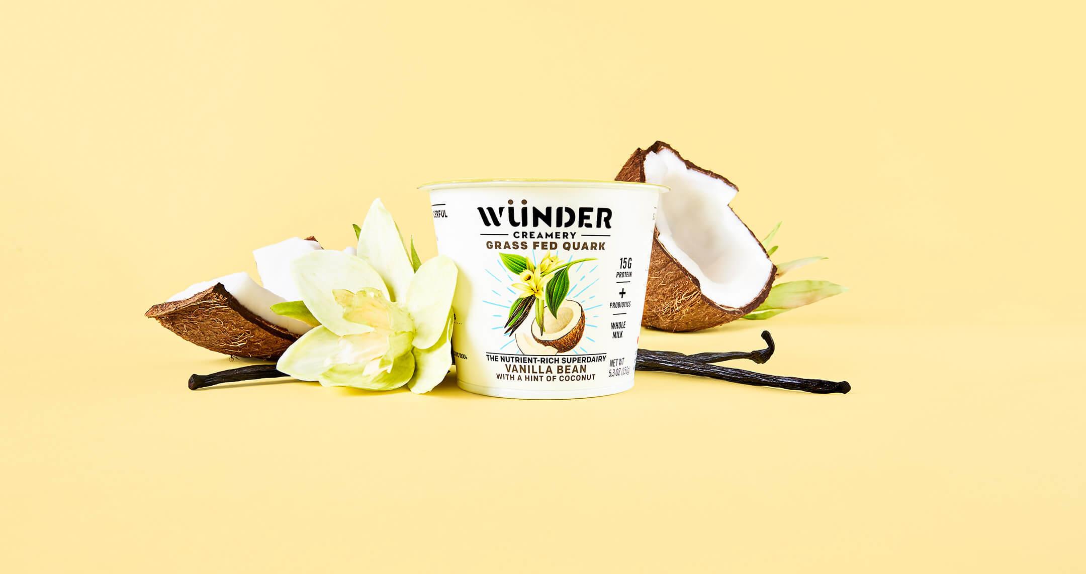 Wunder Creamery Product Photography