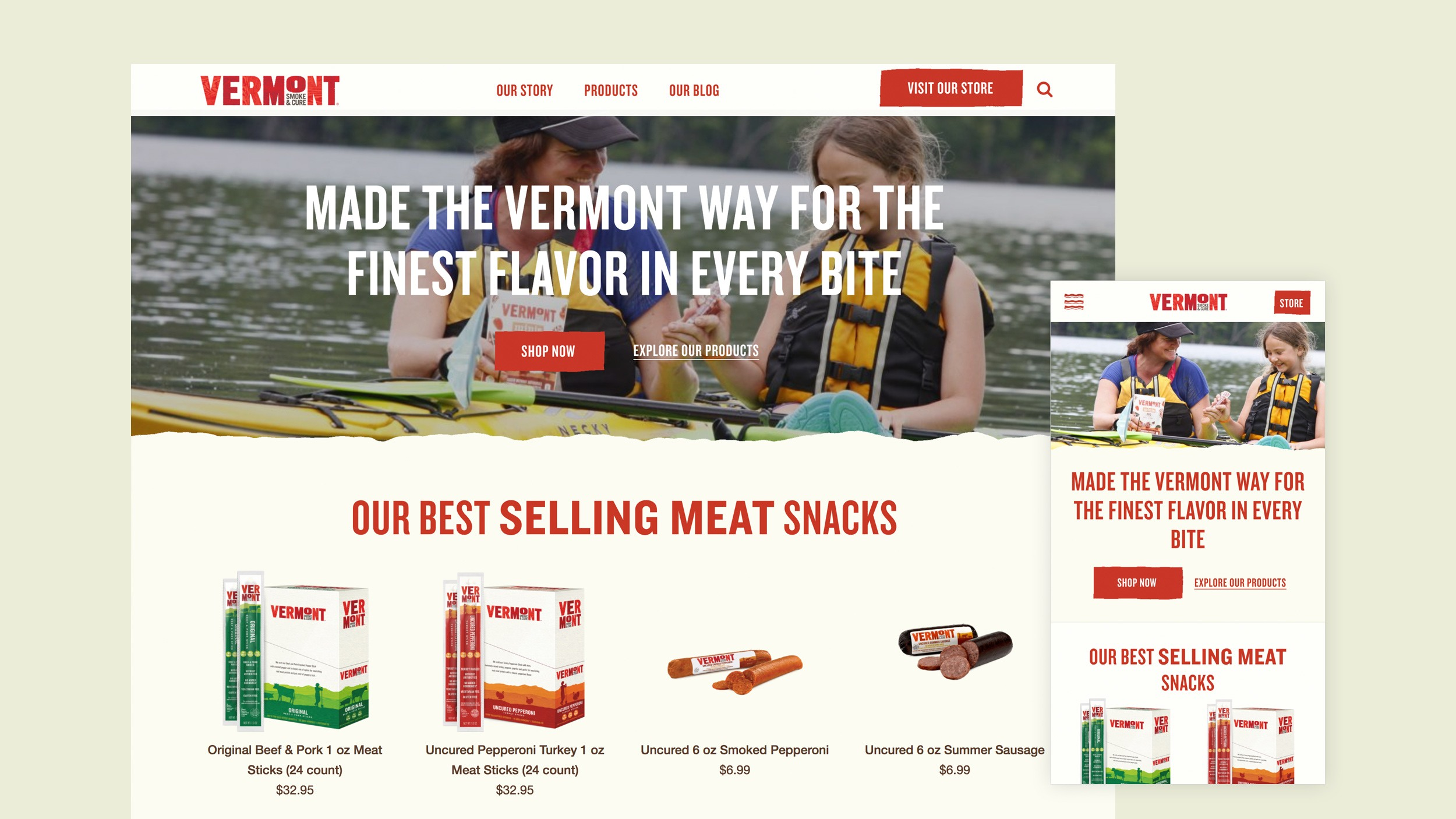 Vermont Smoke & Cure New Homepage