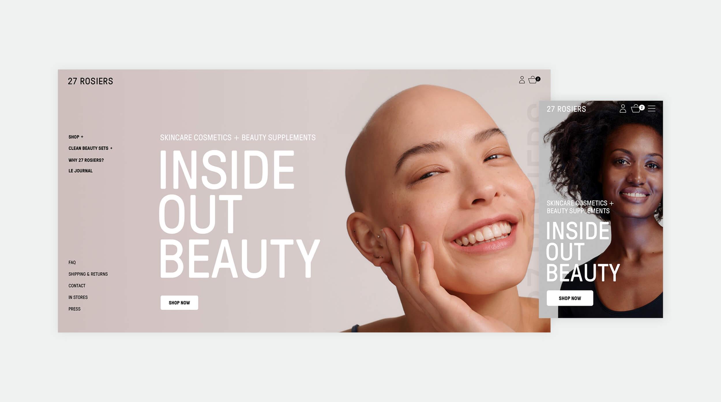 27 Rosiers Homepage