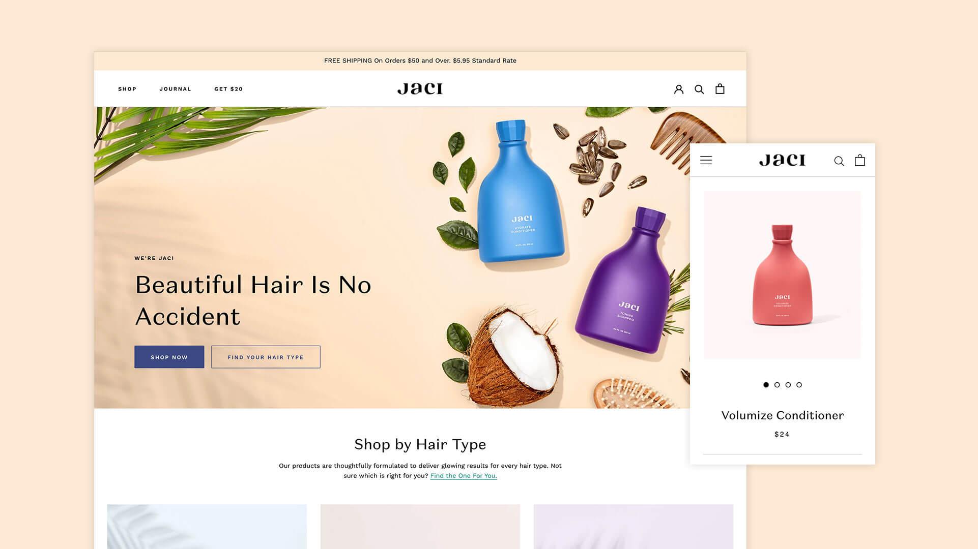 Jaci Homepage